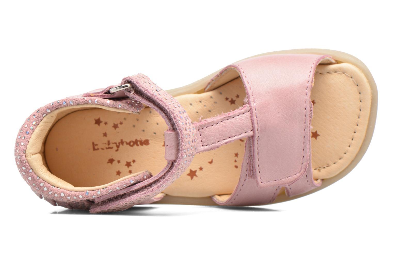 Sandales et nu-pieds Babybotte Tchipi Rose vue gauche