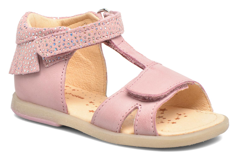 Sandales et nu-pieds Babybotte Tchipi Rose vue détail/paire