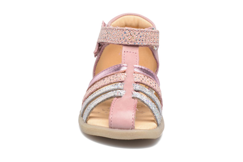 Sandales et nu-pieds Babybotte Tempete Rose vue portées chaussures