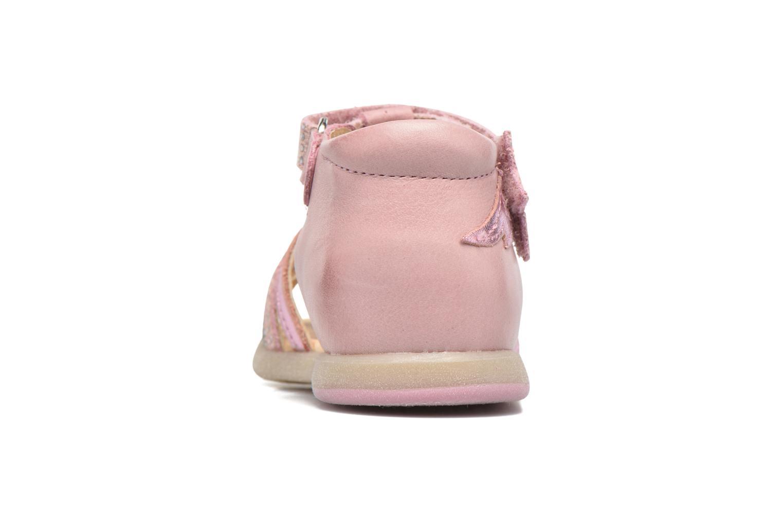 Sandales et nu-pieds Babybotte Tempete Rose vue droite