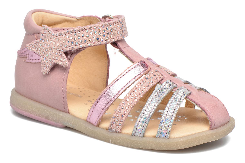 Sandales et nu-pieds Babybotte Tempete Rose vue détail/paire