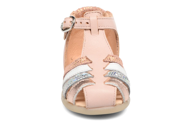 Sandales et nu-pieds Babybotte Guppy4 Rose vue portées chaussures