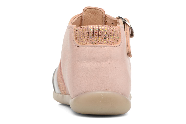 Sandales et nu-pieds Babybotte Guppy4 Rose vue droite