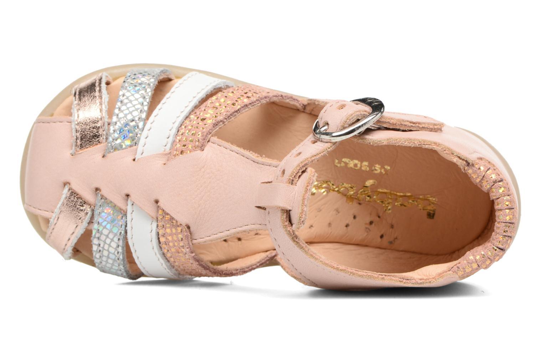 Sandales et nu-pieds Babybotte Guppy4 Rose vue gauche
