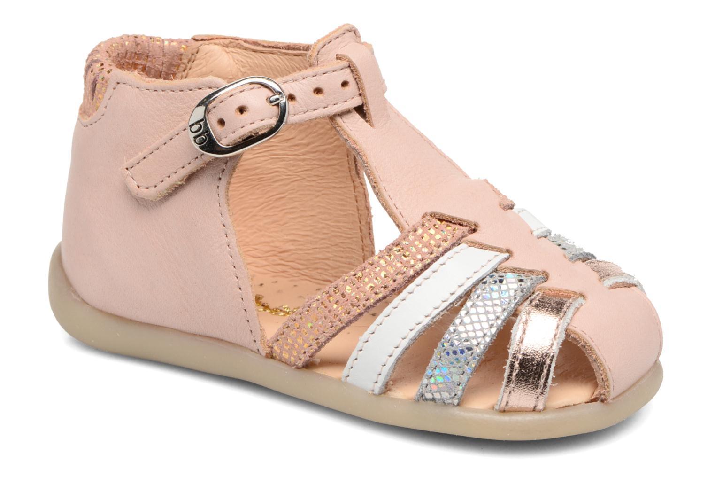 Sandales et nu-pieds Babybotte Guppy4 Rose vue détail/paire