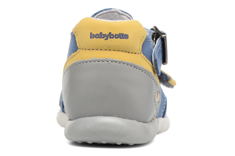 Bottines d'été Babybotte Gepeto Bleu vue droite