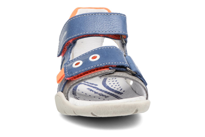 Sandales et nu-pieds Babybotte Triumph Bleu vue portées chaussures