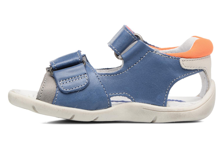 Sandales et nu-pieds Babybotte Triumph Bleu vue face