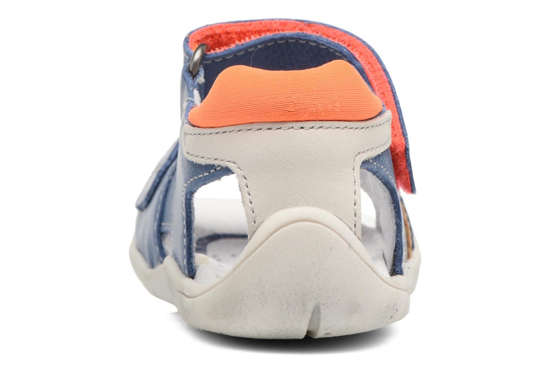 Sandales et nu-pieds Babybotte Triumph Bleu vue droite