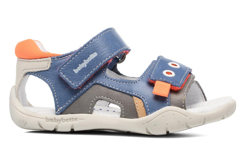 Sandales et nu-pieds Babybotte Triumph Bleu vue derrière