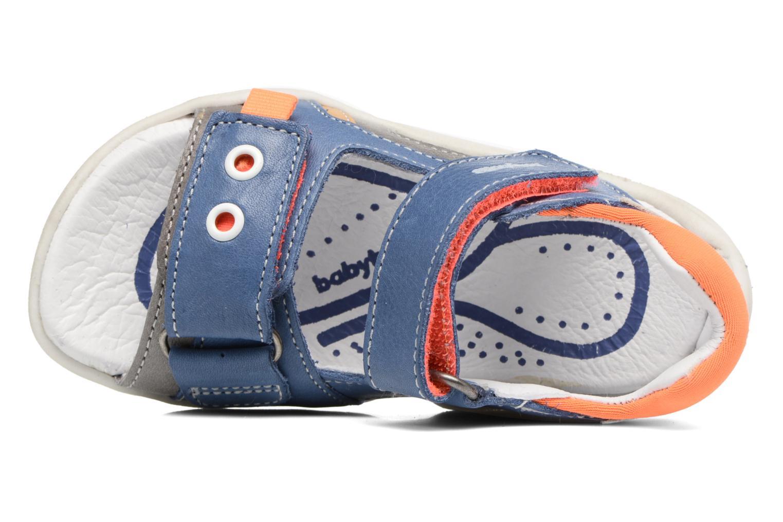 Sandales et nu-pieds Babybotte Triumph Bleu vue gauche