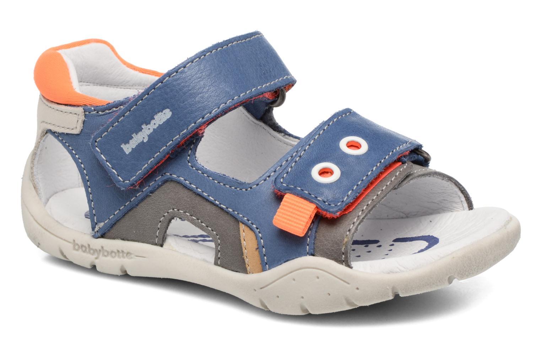 Sandales et nu-pieds Babybotte Triumph Bleu vue détail/paire