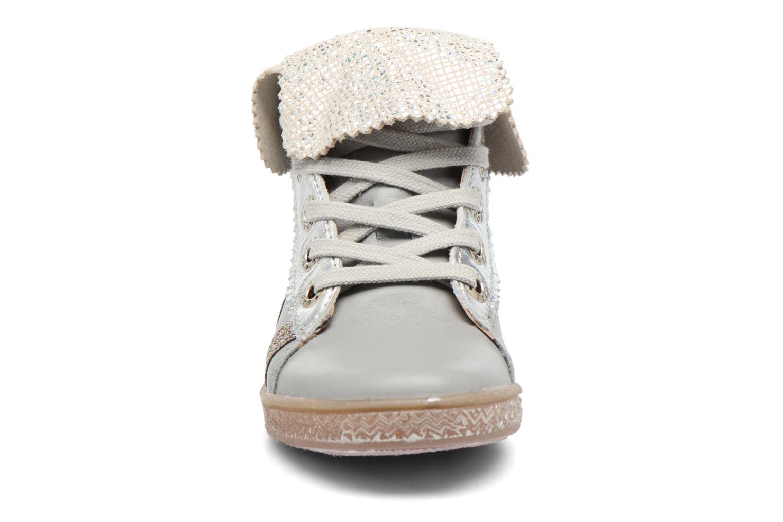 Chaussures à lacets Babybotte Artimiss Argent vue portées chaussures