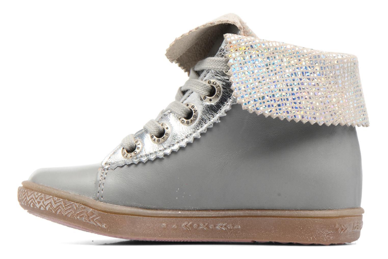Chaussures à lacets Babybotte Artimiss Argent vue face