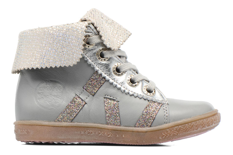 Chaussures à lacets Babybotte Artimiss Argent vue derrière