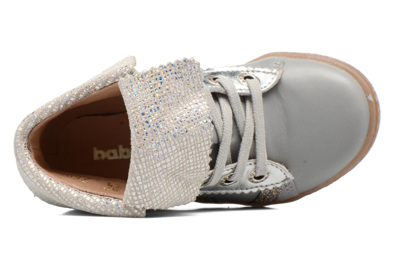 Chaussures à lacets Babybotte Artimiss Argent vue gauche