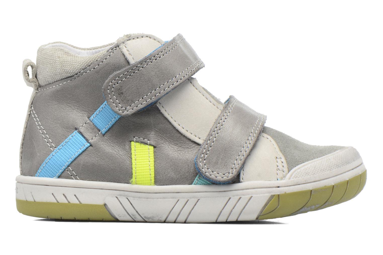 Chaussures à scratch Babybotte Artiboum Gris vue derrière