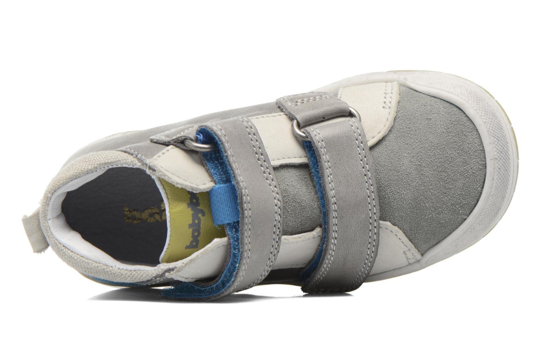 Chaussures à scratch Babybotte Artiboum Gris vue gauche