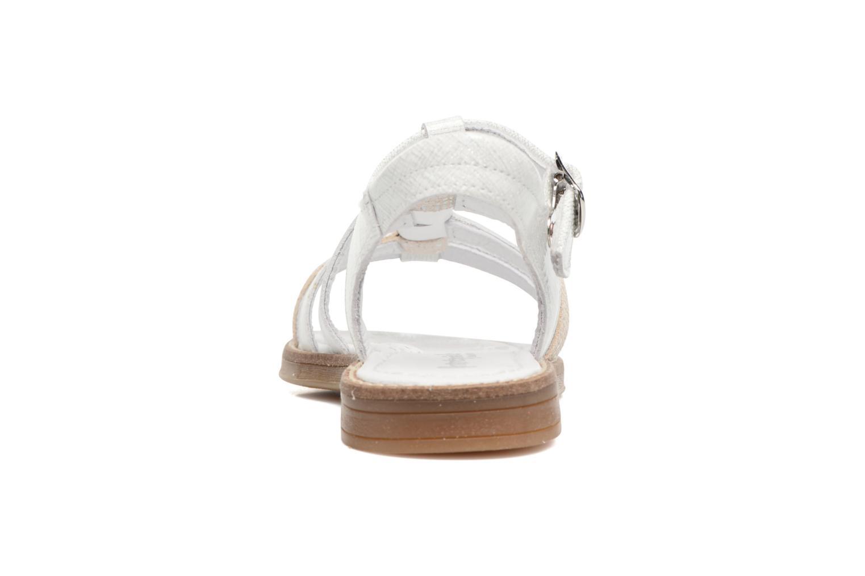 Sandales et nu-pieds Babybotte Kappy Blanc vue droite