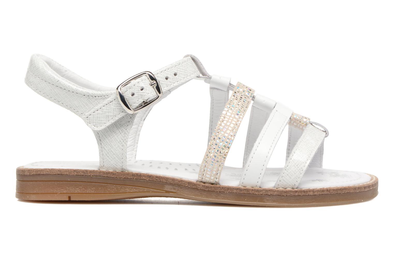 Sandales et nu-pieds Babybotte Kappy Blanc vue derrière