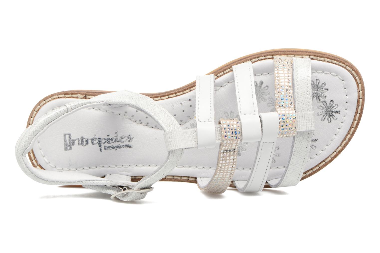 Sandales et nu-pieds Babybotte Kappy Blanc vue gauche