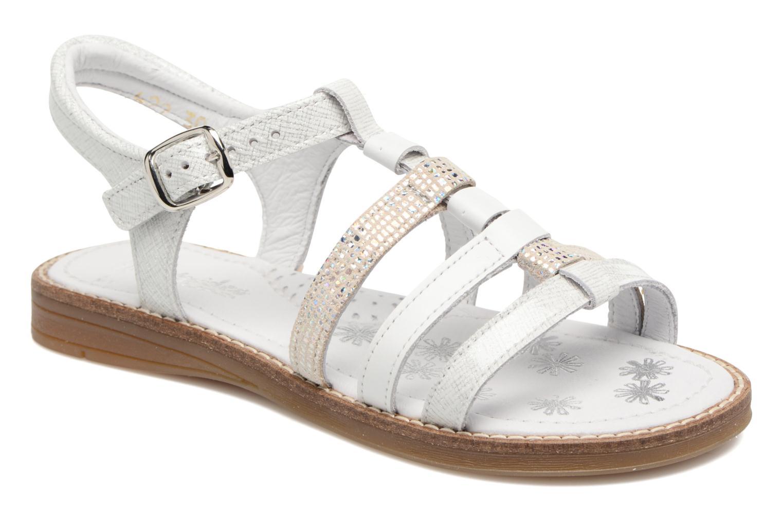 Sandales et nu-pieds Babybotte Kappy Blanc vue détail/paire