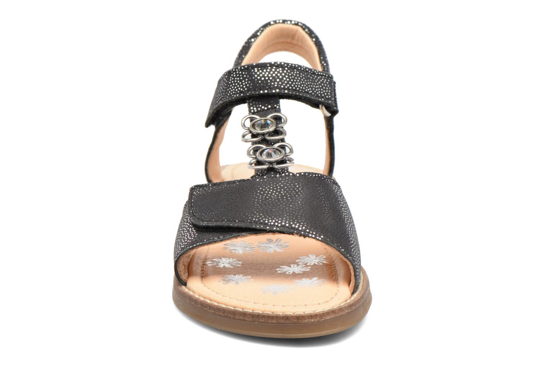 Sandales et nu-pieds Babybotte Klarinette Noir vue portées chaussures