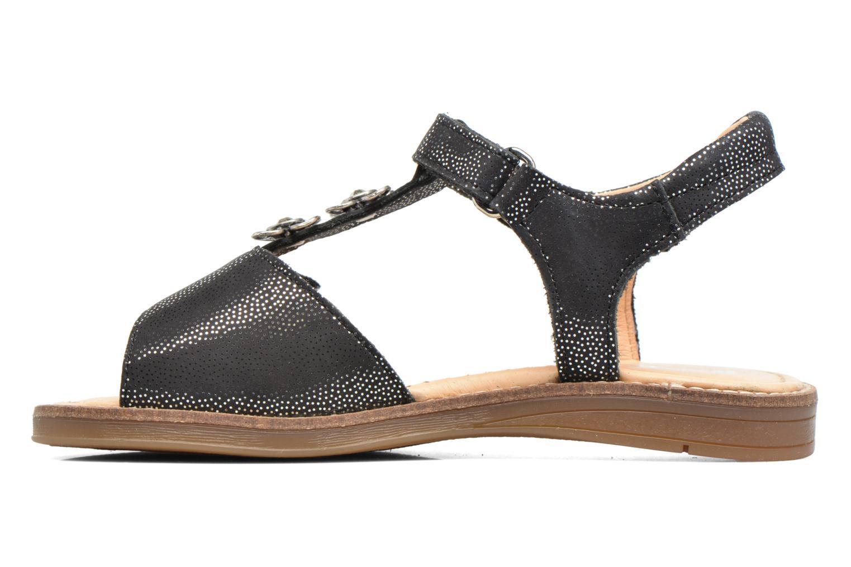 Sandales et nu-pieds Babybotte Klarinette Noir vue face