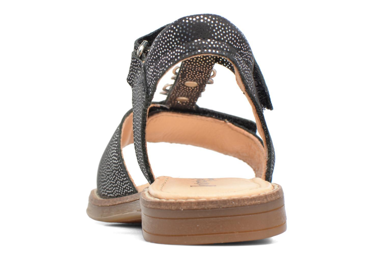 Sandales et nu-pieds Babybotte Klarinette Noir vue droite