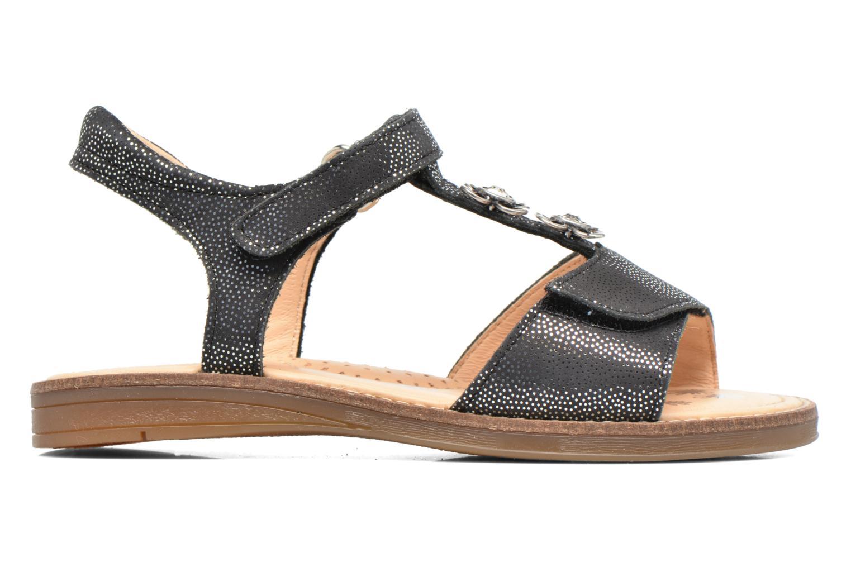 Sandales et nu-pieds Babybotte Klarinette Noir vue derrière