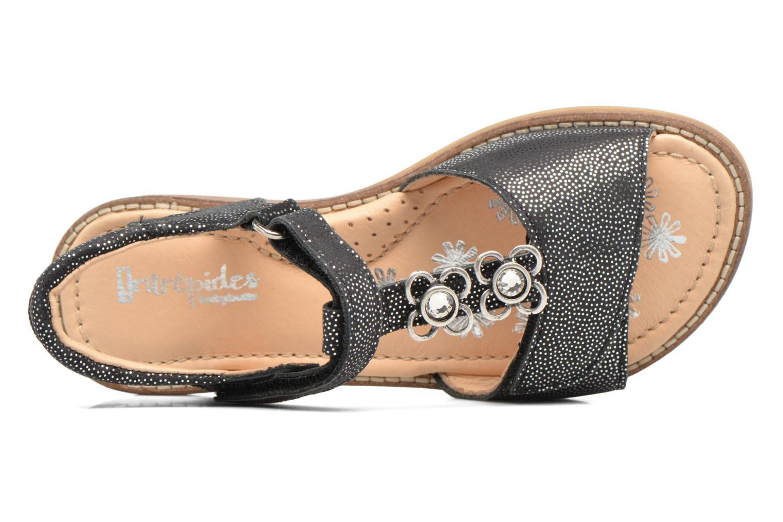 Sandales et nu-pieds Babybotte Klarinette Noir vue gauche