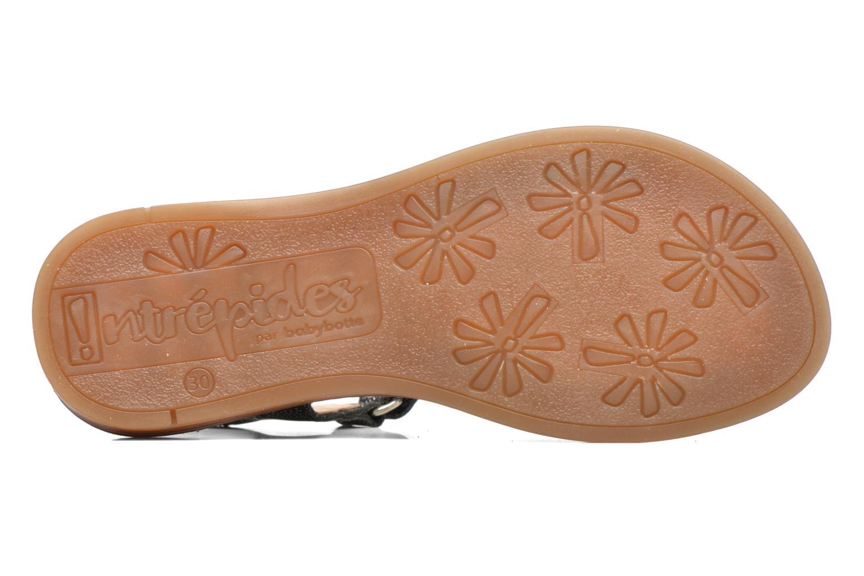Sandalen Babybotte Klarinette Zwart boven