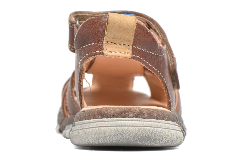 Sandales et nu-pieds Babybotte King Marron vue droite