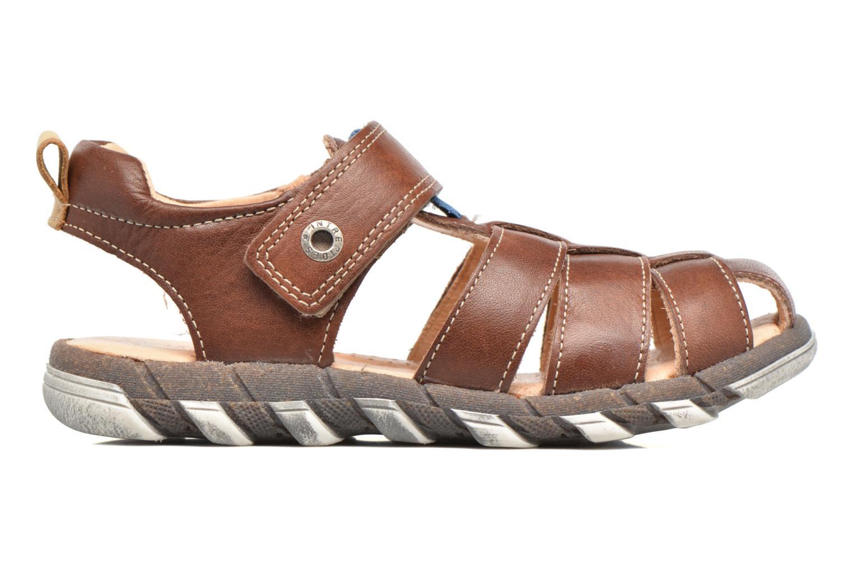 Sandales et nu-pieds Babybotte King Marron vue derrière