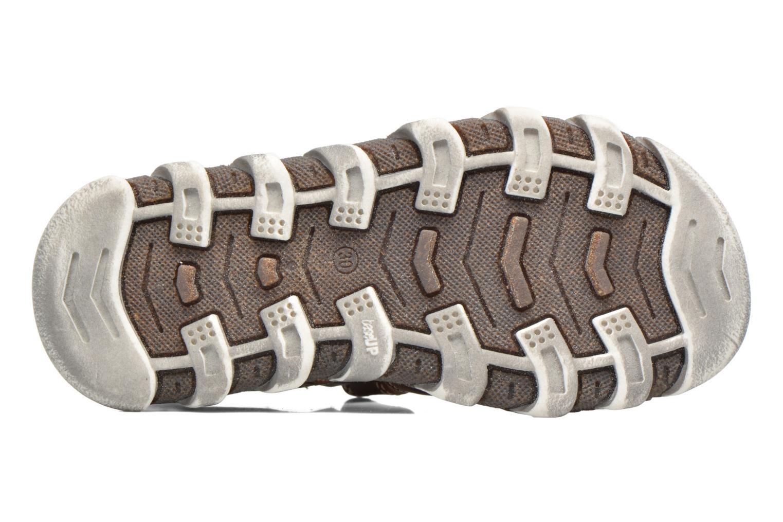 Sandales et nu-pieds Babybotte King Marron vue haut