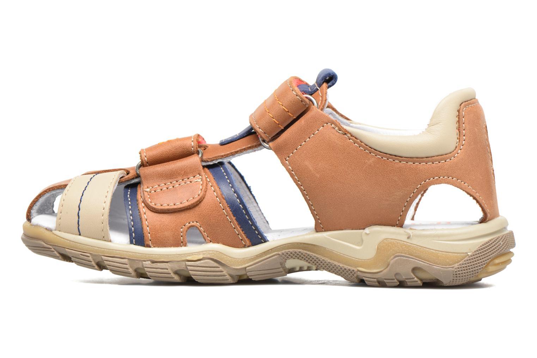 Sandales et nu-pieds Babybotte Karter Marron vue face