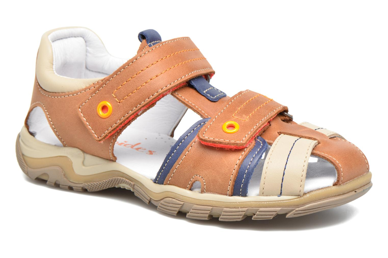 Sandales et nu-pieds Babybotte Karter Marron vue détail/paire