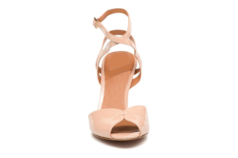 Sandales et nu-pieds What For Milky Way Beige vue portées chaussures
