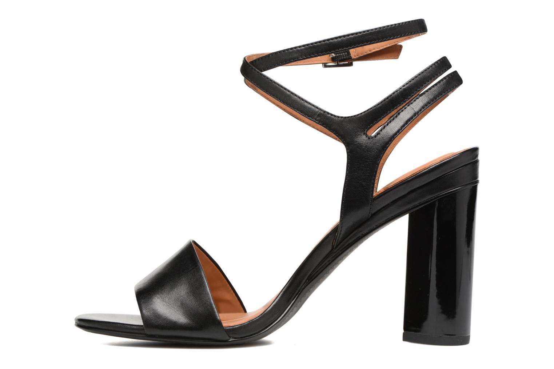 Sandales et nu-pieds What For Maïa Noir vue face