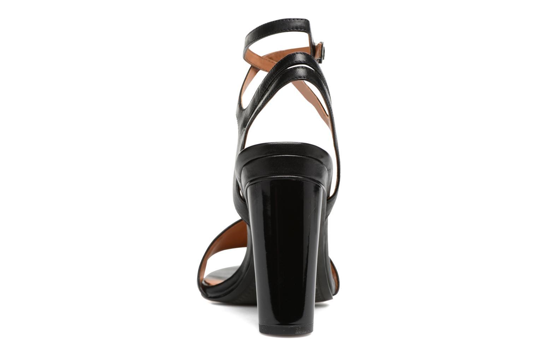 Sandales et nu-pieds What For Maïa Noir vue droite