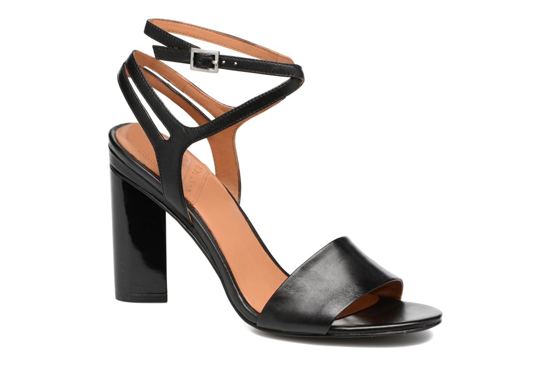 Sandales et nu-pieds What For Maïa Noir vue détail/paire