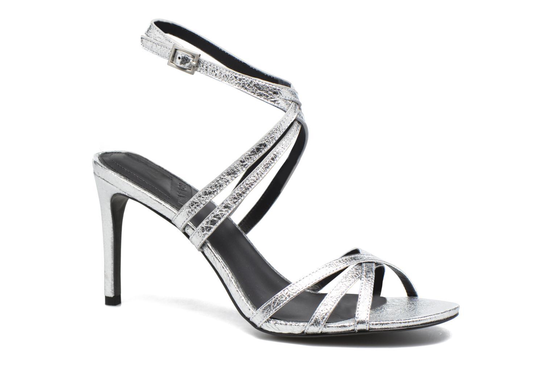 Sandales et nu-pieds What For Meteor Argent vue détail/paire