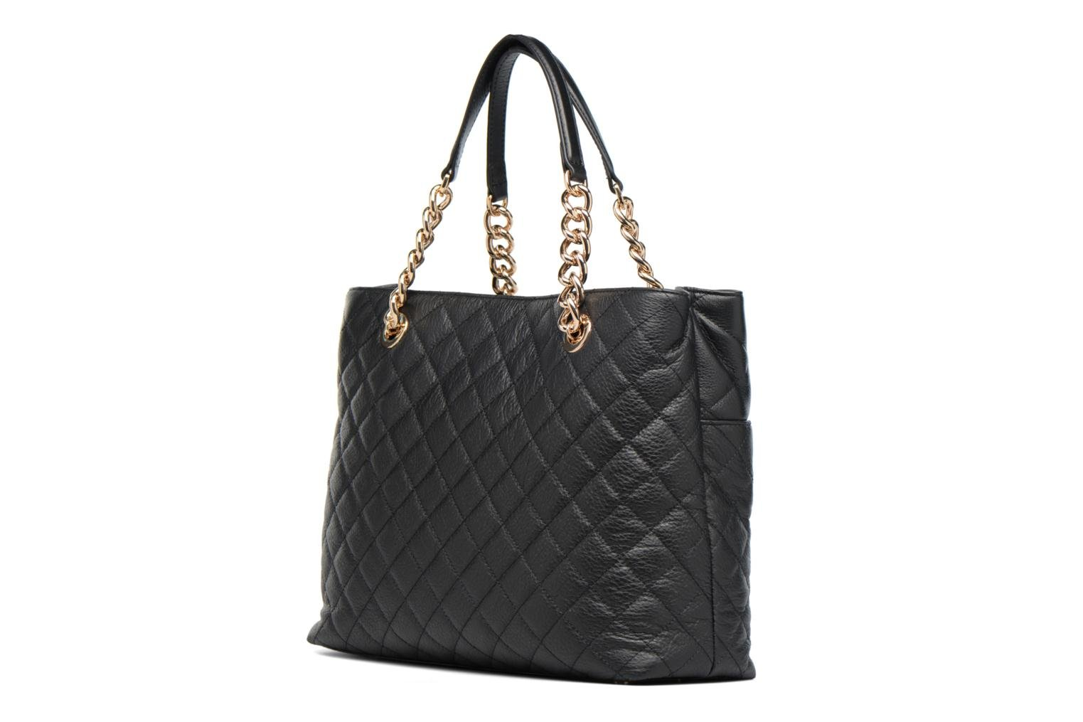LOU Leather Carryall Black