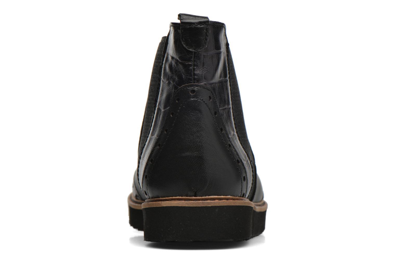 Bottines et boots Ippon Vintage Hunter Croco Noir vue droite