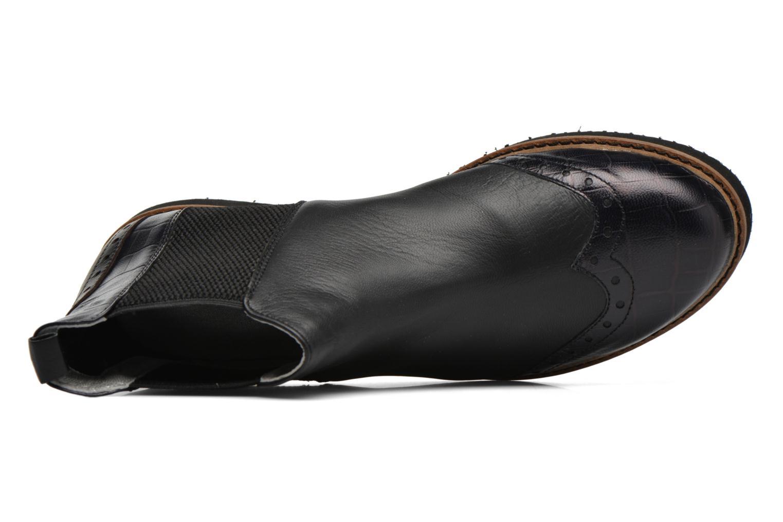 Bottines et boots Ippon Vintage Hunter Croco Noir vue gauche