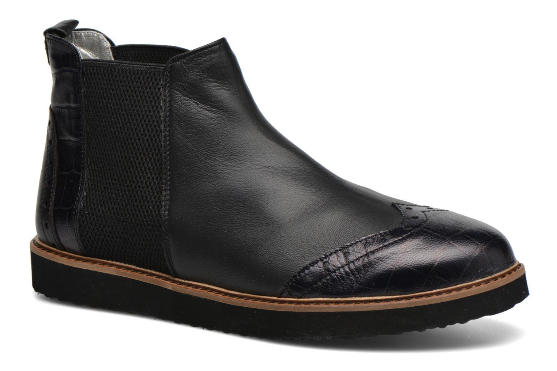 Bottines et boots Ippon Vintage Hunter Croco Noir vue détail/paire