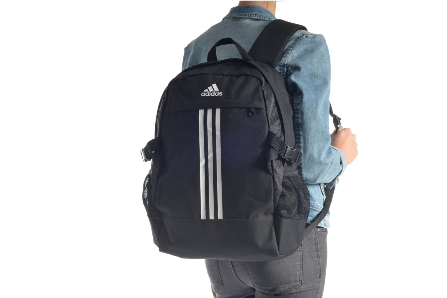 Sacs à dos Adidas Performance BP POWER III M Noir vue haut