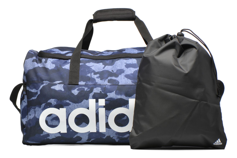 Sacs de sport Adidas Performance LIN PER TB GR M Bleu vue gauche