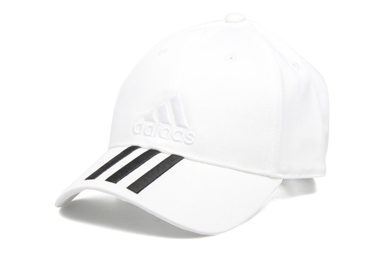 6P 3S CAP COTTO Blanc/noir/blanc