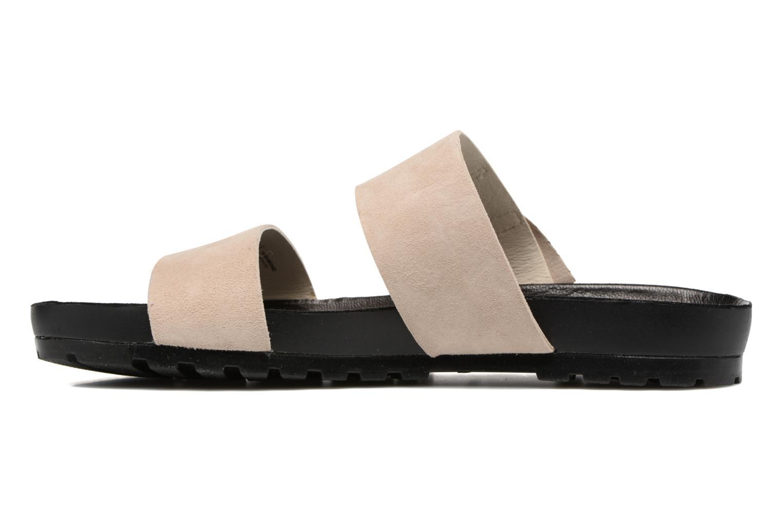 Mules & clogs Vagabond Shoemakers Erie 4332-040 Beige front view